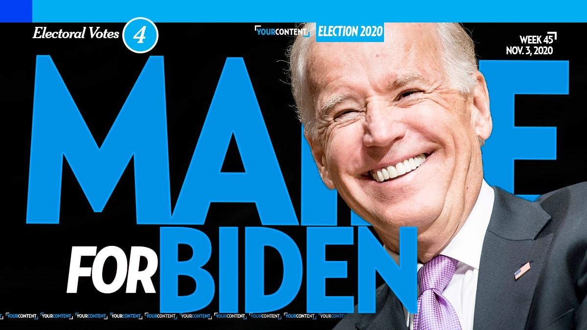 Joe Biden Wins Maine