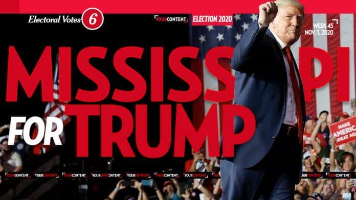 President Donald Trump Wins Mississippi