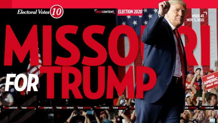 President Donald Trump Wins Missouri