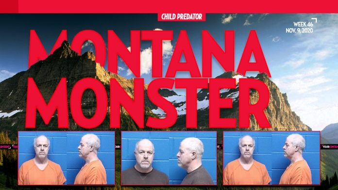 Montana Monster 'Billy Dean Smith' to Perish in Federal Penitentiary for Sexually Exploiting Child