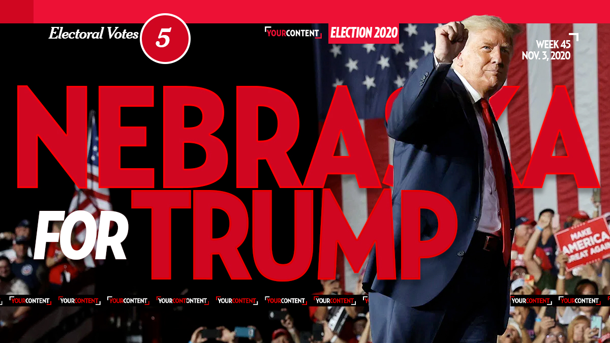 President Donald Trump Wins Nebraska