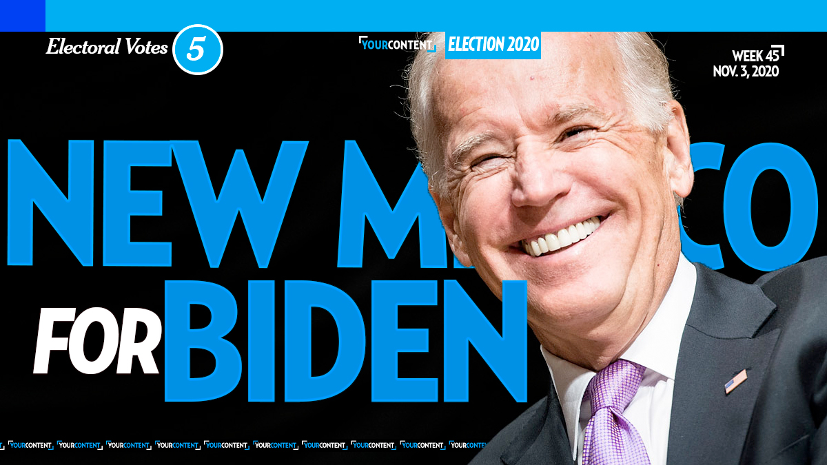 Joe Biden Wins New Mexico