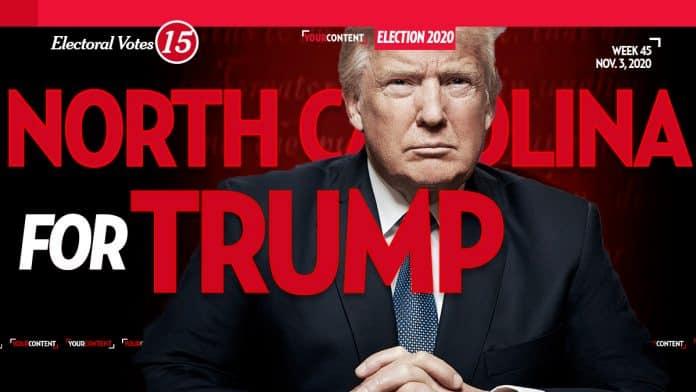 President Donald Trump Wins North Carolina