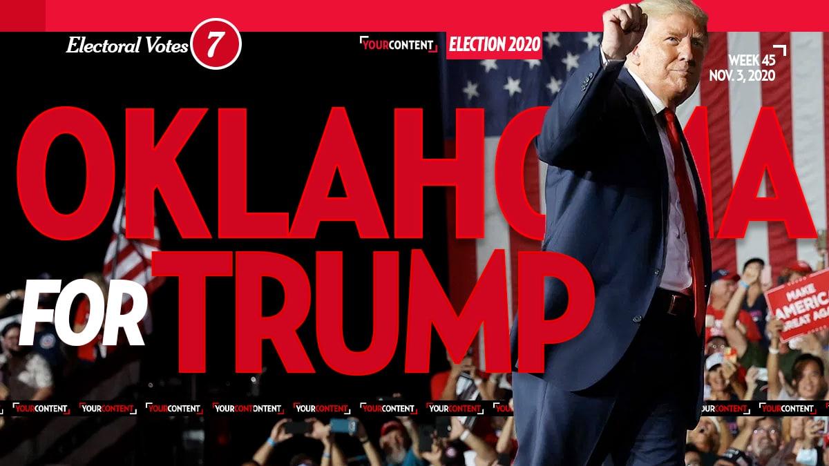 President Donald Trump Wins Oklahoma