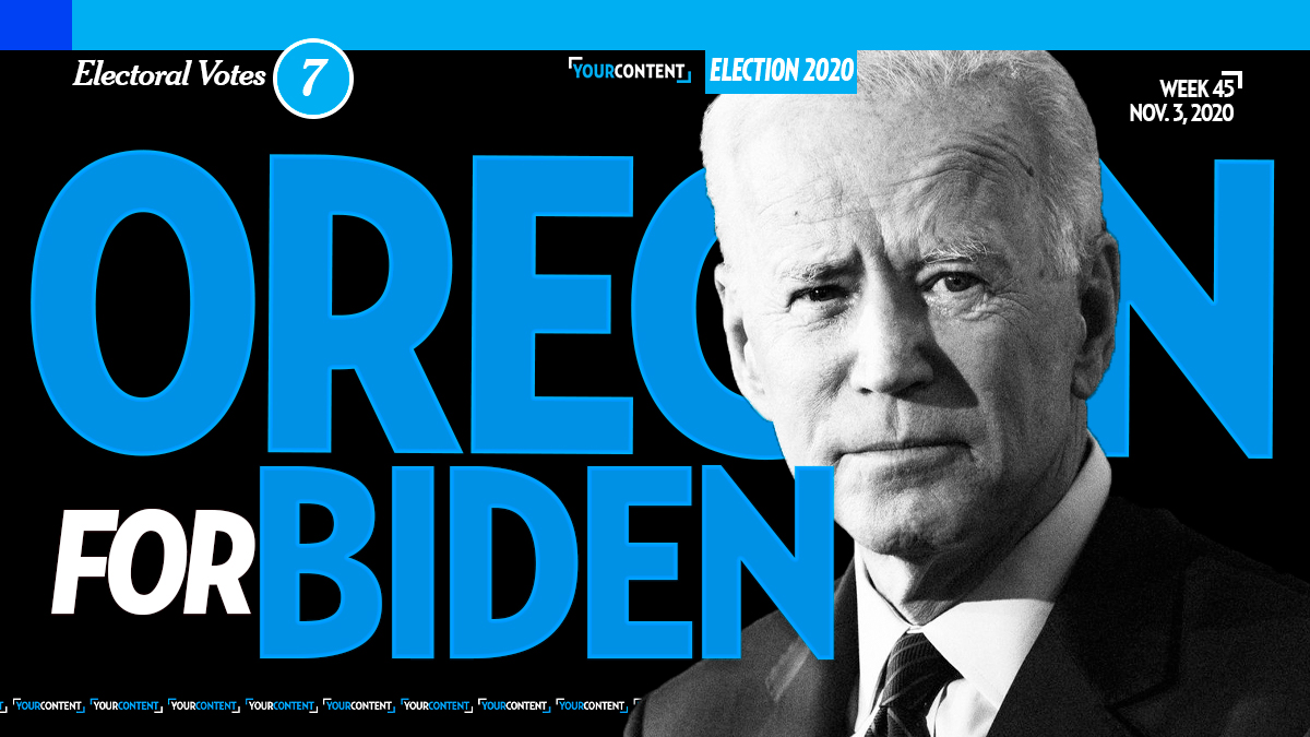 Joe Biden Wins Oregon