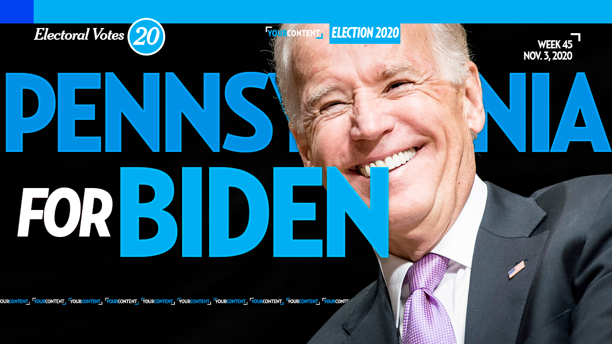 Joe Biden Wins Pennsylvania