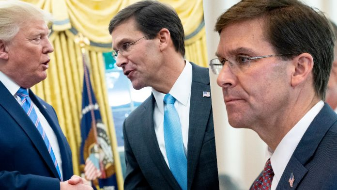 President Trump Announces Termination of Defense Secretary Mark Esper