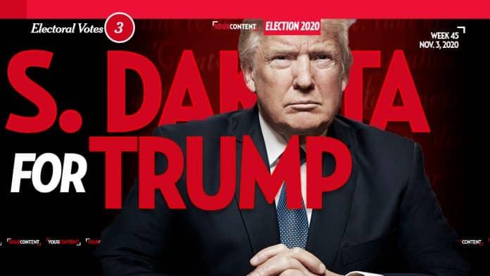 President Donald Trump Wins South Dakota
