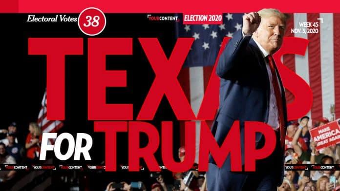 President Donald Trump Wins Texas