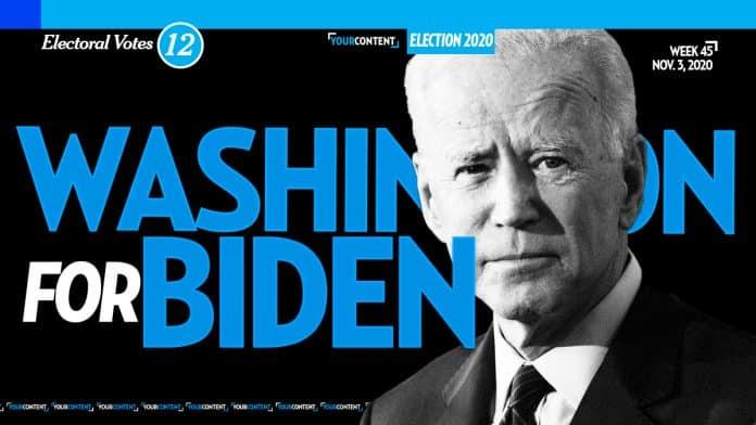 Joe Biden Wins Washington
