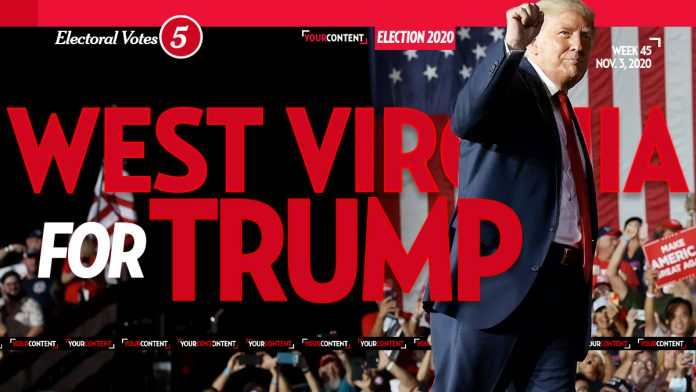 President Donald Trump Wins West Virginia