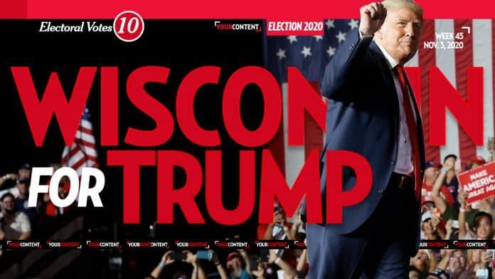 President Donald Trump Wins Wisconsin