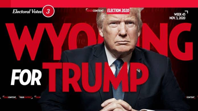 President Donald Trump Wins Wyoming