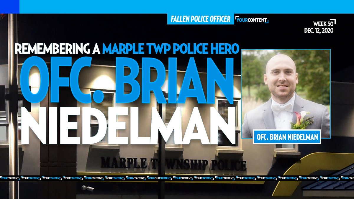 Funeral Arrangements Set for Decorated Marple Police Officer Brian Niedelman
