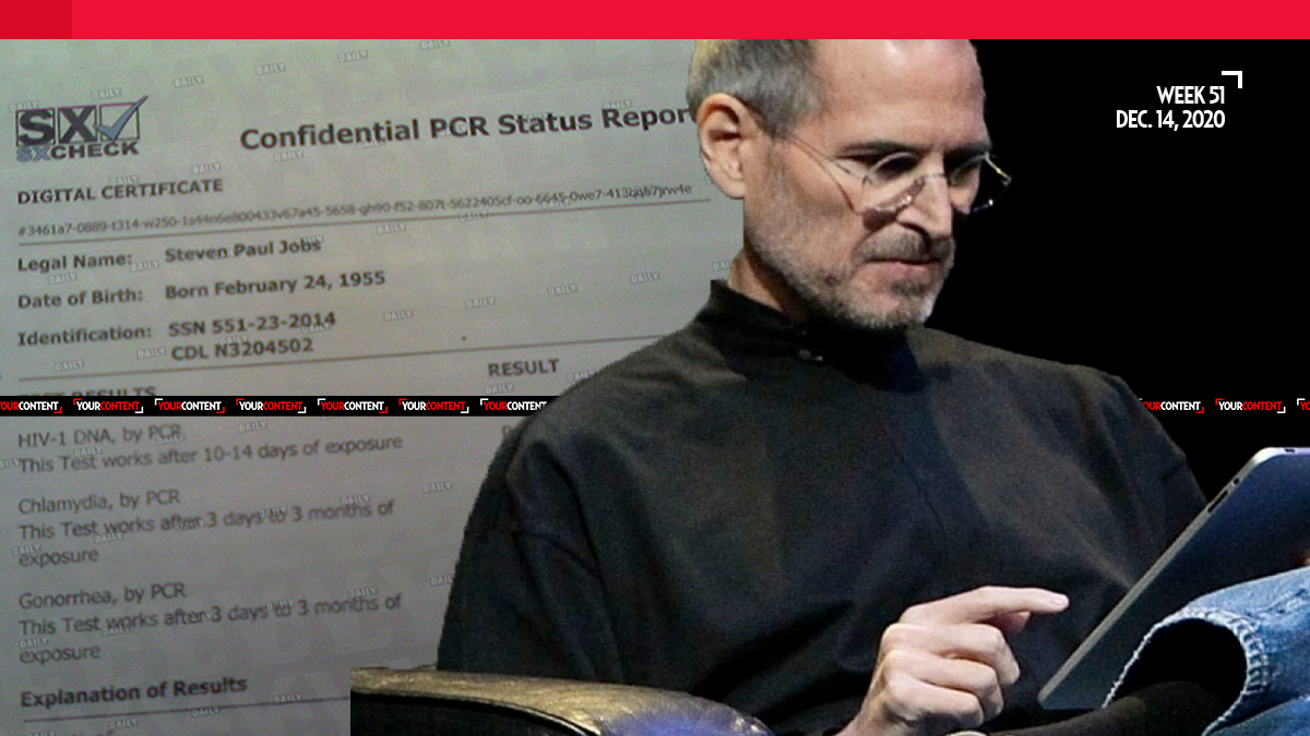 Medical Documents Reveal Steve Jobs Tested Positive for HIV in 2004