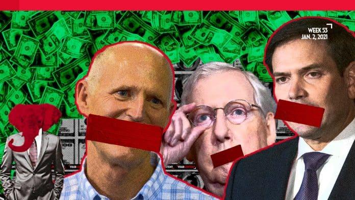 Senators Marco Rubio, Rick Scott, bankrolled by private prison, plan to elect Biden on Jan. 6