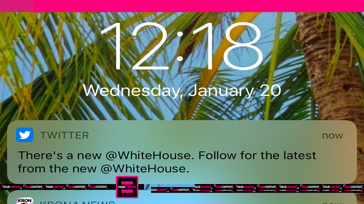 Twitter sets up new White House account as staff struggle to finalize residence