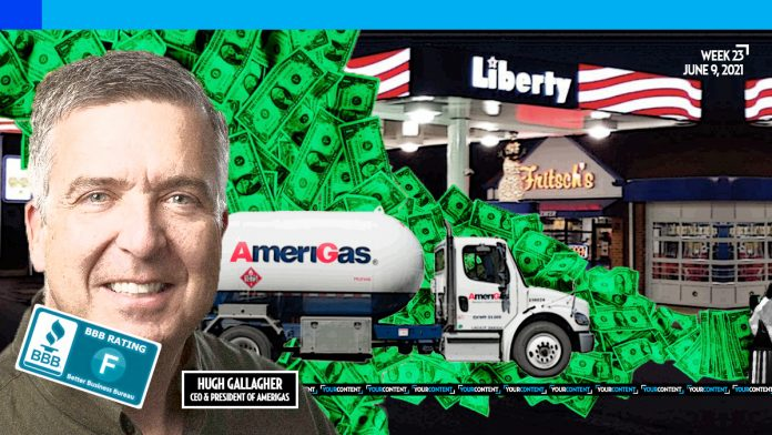 BBB rates AmeriGas F as propane pinchpenny abandons mom-and-pop shops for large chain stores