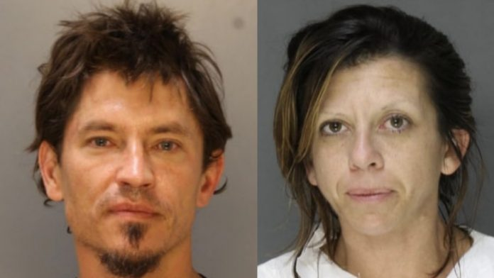 William Quirk and Nicole DiPietro, of Broomall, arrested for recent Radnor residential burglary